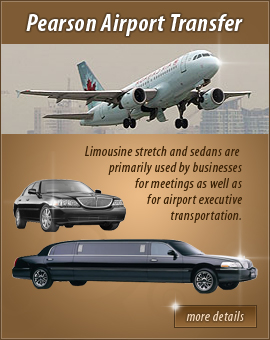 Ajax Limousine - offering limousine services in Ajax for your wedding day celebration - your special events limo - your corporate airport limo service